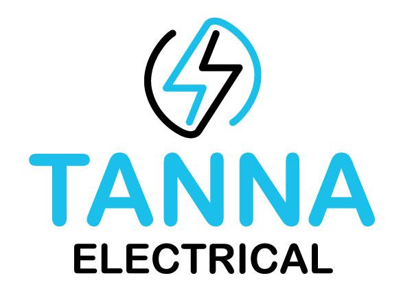 Tanna Logo Blue&Black on white